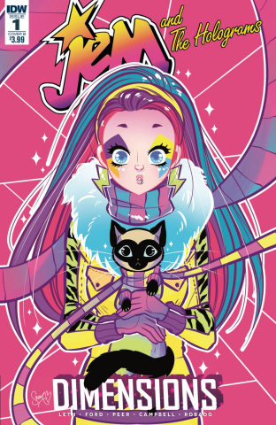 Jem and The Holograms: Dimensions #1 (Robado Cover)