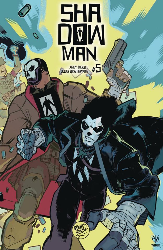 Shadowman #5 (20 Copy Lafuente Cover)