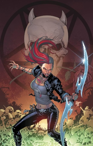 Grimm Fairy Tales: Hellchild #1 (Salazar Cover)