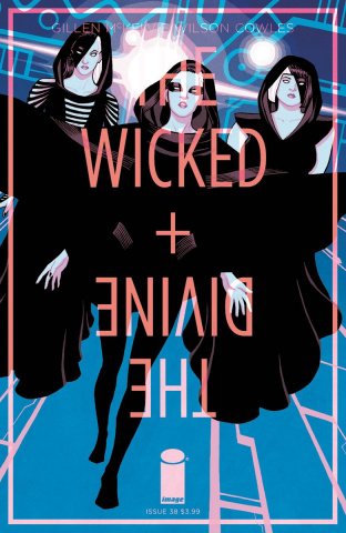The Wicked + The Divine #38 (Chiang Cover)