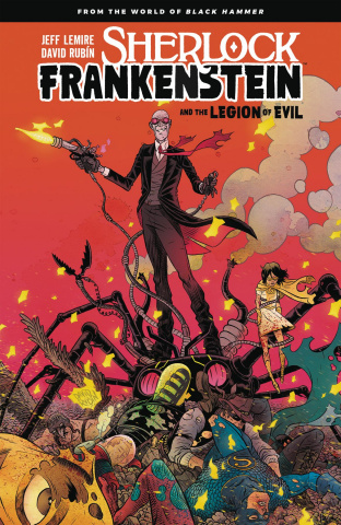 Sherlock Frankenstein and the Legion of Evil