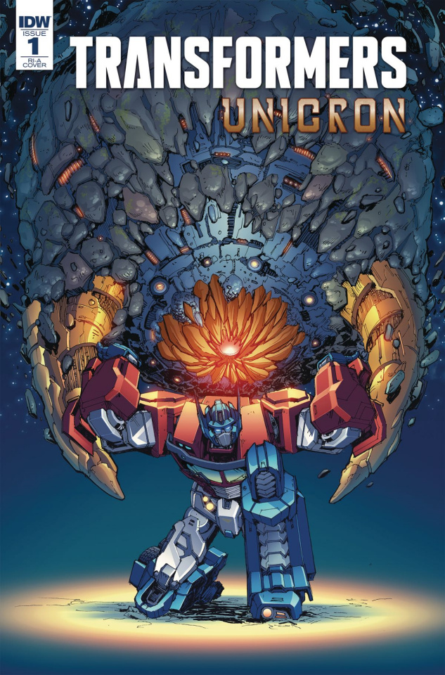 The Transformers: Unicron #1 (10 Copy Griffith Cover)