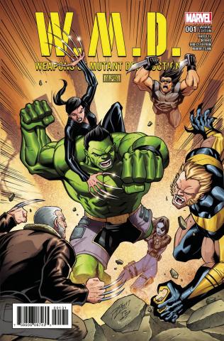 Weapons of Mutant Destruction #1 (Lim Cover)