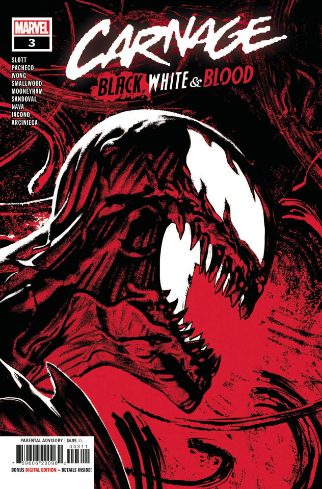 Carnage: Black, White, and Blood #3