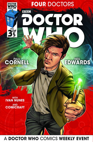 Doctor Who: Four Doctors #3 (Edwards Cover)