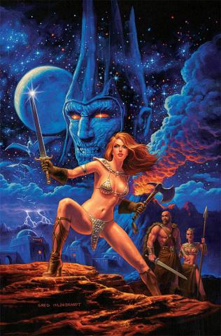 Red Sonja (Greg Hildebrandt Special Edition Metal Cover)