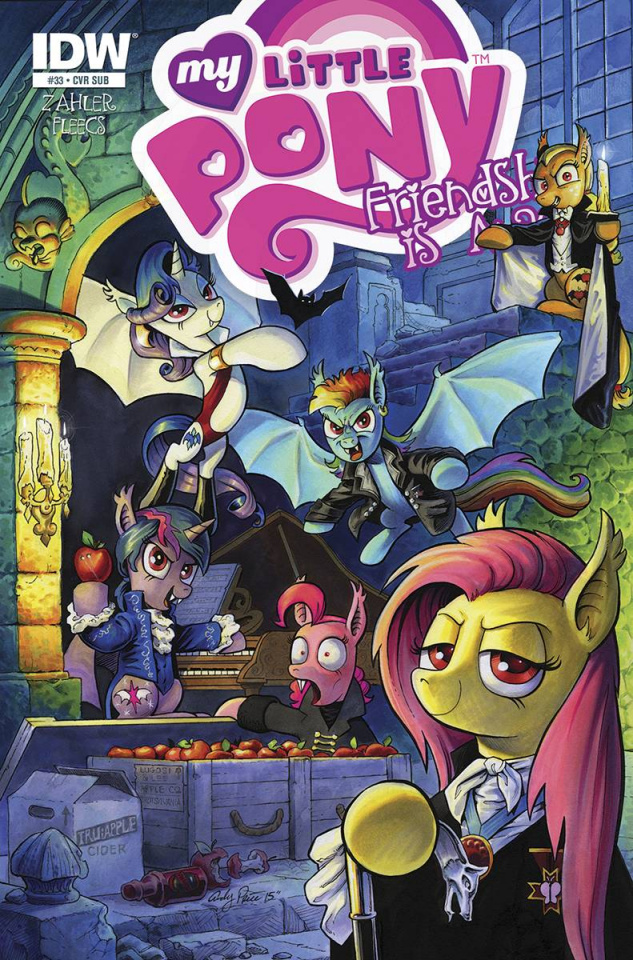 My Little Pony: Friendship Is Magic #33 (Subscription Cover)