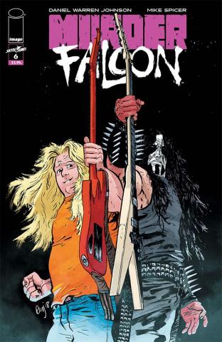 Murder Falcon #6 (Johnson & Spicer Cover)