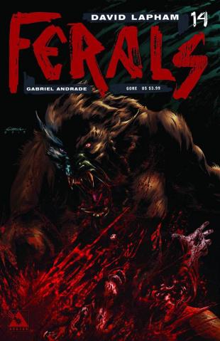 Ferals #14 (Gore Cover)