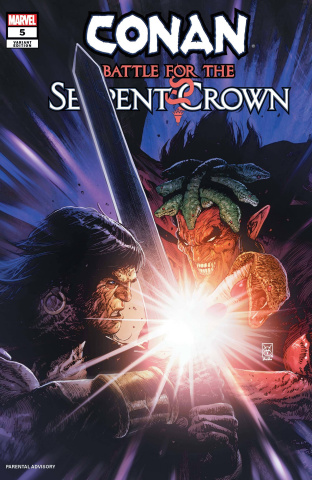 Conan: Battle for the Serpent Crown #5 (Giangiordano Cover)