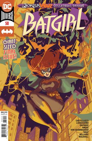 Batgirl #50 (Riley Rossmo 2nd Printing)