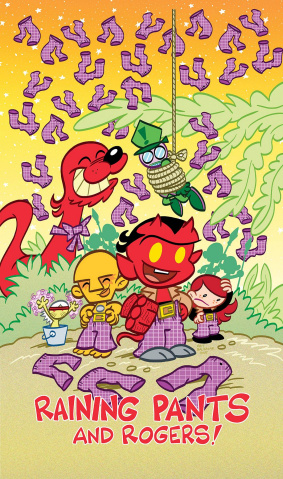 Itty Bitty Hellboy: The Search for the Were-Jaguar #4
