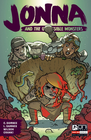 Jonna and the Unpossible Monsters #4 (Cannon Cover)