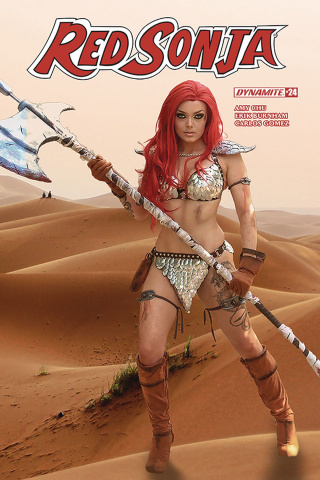 Red Sonja #24 (Cosplay Cover)