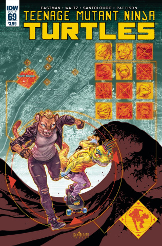Teenage Mutant Ninja Turtles #69