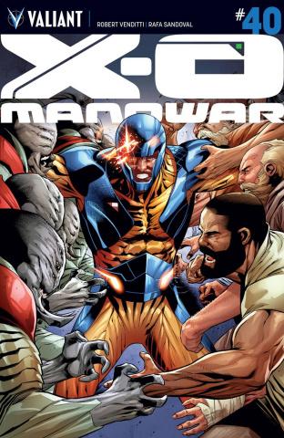 X-O Manowar #40 (Sandoval Cover)