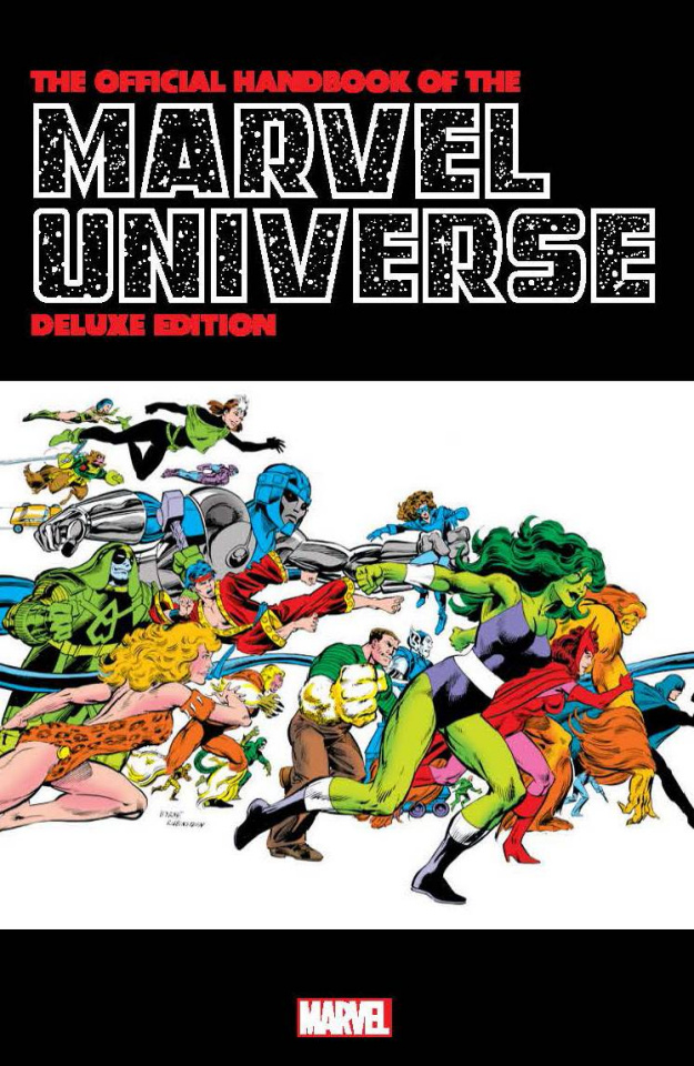 The Official Handbook of the Marvel Universe Vol. 13 (Omnibus)