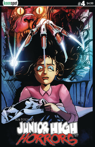 Junior High Horrors #4 (Nightmare on Elm St. Cover)