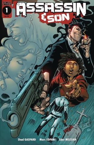 Assassin & Son #1 (Messiah Cover)