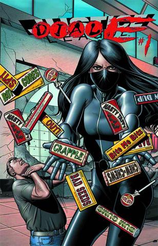 Justice League #23.3: Dial E Standard Cover