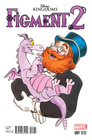 Figment 2 #1 (Classic Disney Image Cover)