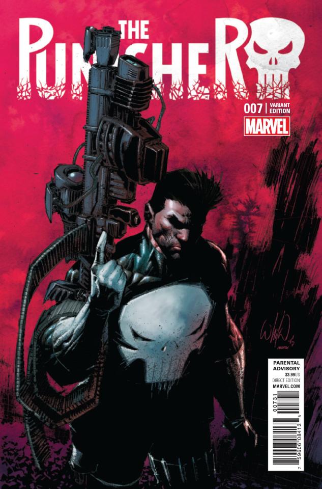 The Punisher #7 (Portacio Classic Cover)