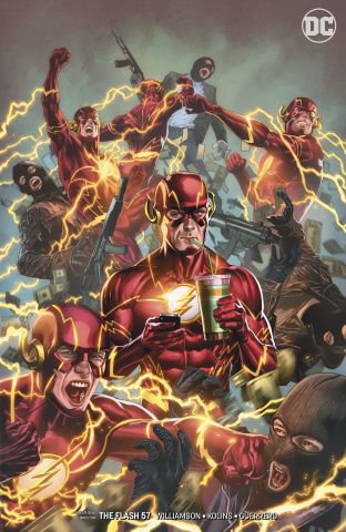 The Flash #57 (Variant Cover)