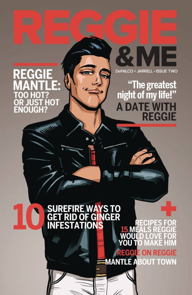 Reggie and Me #2 (Chip Zdarsky Cover)