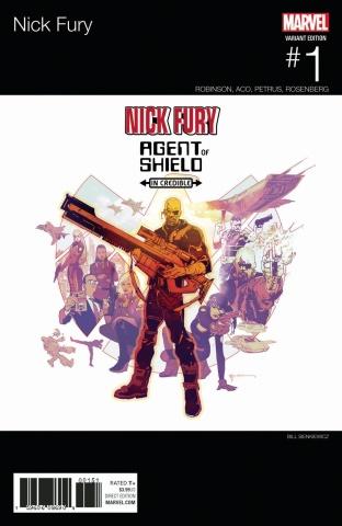 Nick Fury #1 (Sienkiewicz Cover)