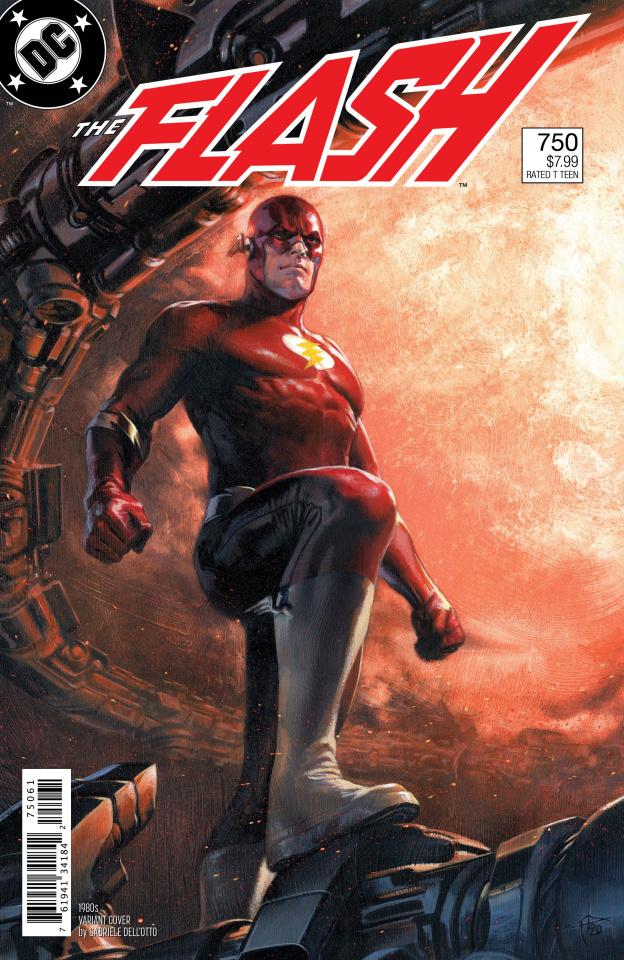 The Flash #750 (1980s Dell'Otto Cover)