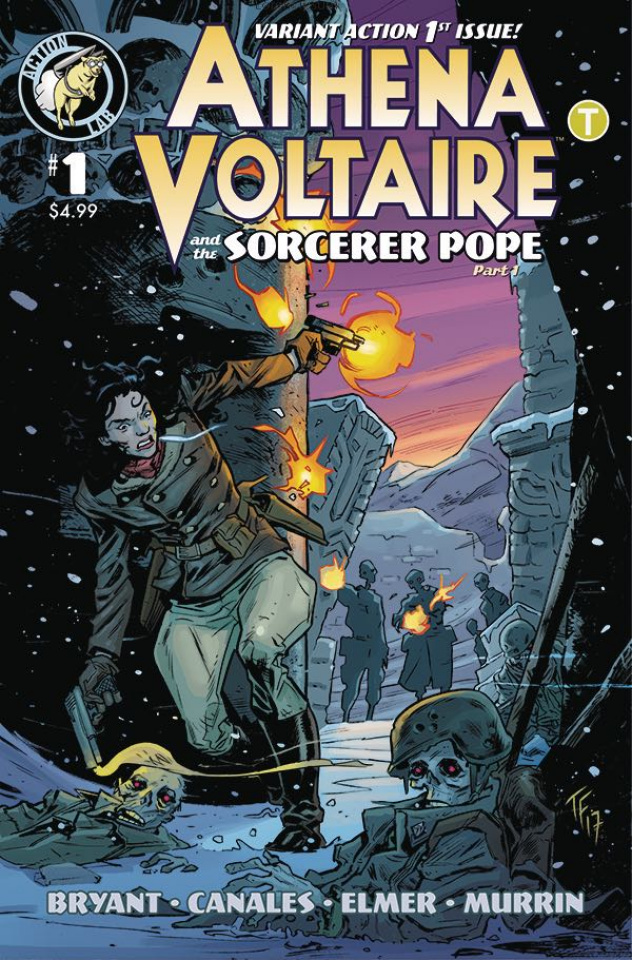Athena Voltaire #1 (Fowler Cover)