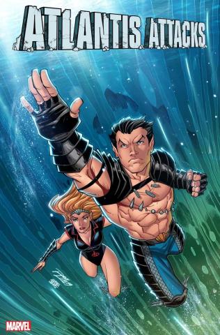Atlantis Attacks #1 (Ron Lim Cover)