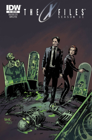 The X-Files, Season 11 #6 (Subscription Cover)