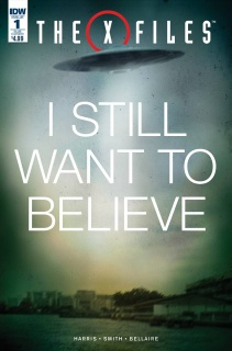 The X-Files #1 (Subscription Cover)