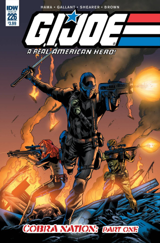 G.I. Joe: A Real American Hero #226