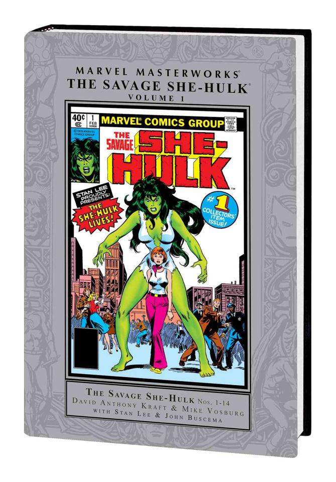 The Savage She-Hulk Vol. 1 (Marvel Masterworks)