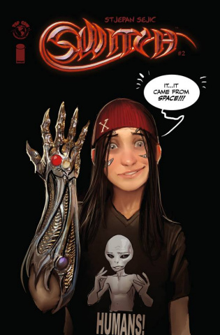 Switch #2 (Stjepan Sejic Cover)