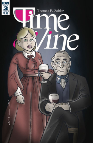 Time & Vine #3 (Zahler Cover)