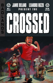 Crossed: Badlands #7 (Auxiliary Edition)
