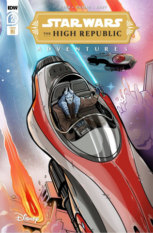 Star Wars: The High Republic Adventures #2 (10 Copy Yael Nath Cover)
