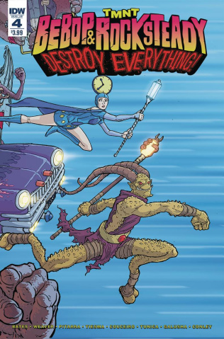 Teenage Mutant Ninja Turtles: Bebop & Rocksteady Destroy Everything #4