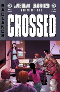 Crossed: Badlands #8 (Auxiliary Edition)