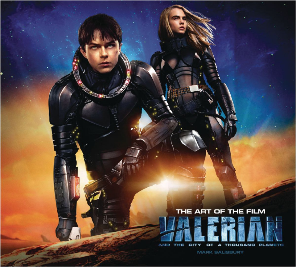 The Art of Valerian and the City of a Thousand Planets