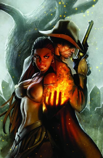 Salem's Daughter: The Haunting #4 (Sejic Cover)