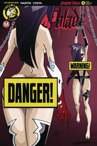 Vampblade, Season Three #4 (Mendoza Risque Cover)