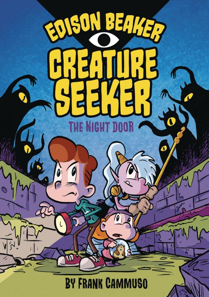 Edison Beaker, Creature Seeker Vol. 1: The Night Door