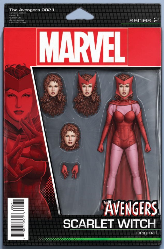 Avengers #2.1 (Christopher Action Figure Cover)