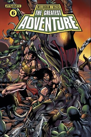 The Greatest Adventure #6 (Castro Cover)