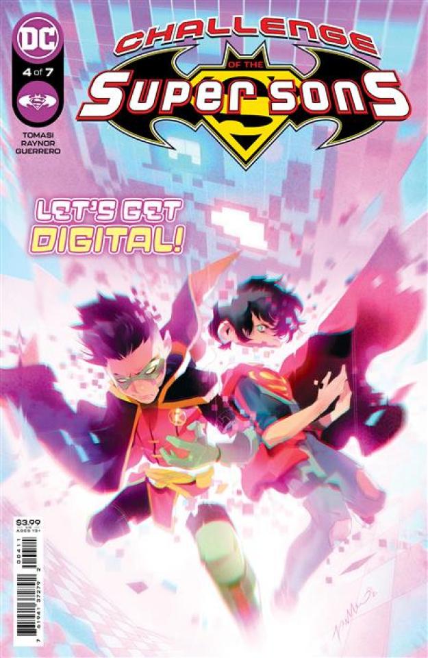 Challenge of the Super Sons #4 (Simone Di Meo Cover)