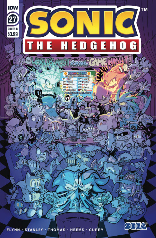 Sonic the Hedgehog #27 (Starling Cover)